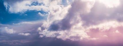 Bella priorità bassa delle nubi fotografia stock libera da diritti