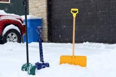 Bella priorità bassa di inverno Fotografie Stock