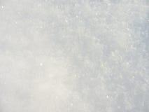 Bella priorità bassa pulita della neve Fotografie Stock Libere da Diritti