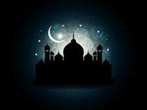 Bella priorità bassa religiosa astratta del eid illustrazione vettoriale
