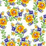Bella progettazione variopinta della stampa del fiore royalty illustrazione gratis