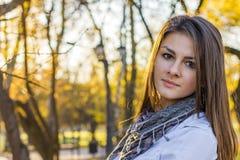 Bella ragazza al tramonto Fotografia Stock Libera da Diritti