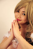 Bella ragazza asiatica immagine stock libera da diritti