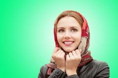 Bella ragazza in autunno Immagine Stock Libera da Diritti