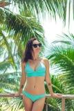 Bella ragazza in bikini immagini stock