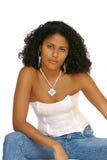 Bella ragazza brasiliana fotografie stock