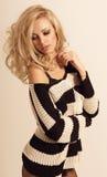 Bella ragazza con capelli biondi Fotografia Stock