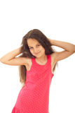 Bella ragazza con gli occhi azzurri Fotografia Stock Libera da Diritti