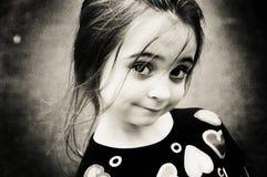 Bella ragazza del Brunette immagini stock