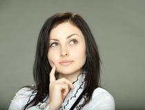 Bella ragazza del brunette Fotografie Stock Libere da Diritti