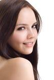 Bella ragazza del brunette Immagine Stock Libera da Diritti