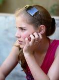 Bella ragazza dell'adolescente Immagini Stock Libere da Diritti