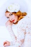 Bella ragazza della sposa Fotografie Stock