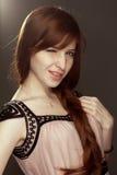 Bella ragazza di redhead fotografie stock