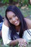 Bella ragazza haitiana all'aperto (14) Fotografia Stock