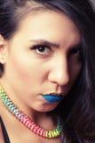 Bella ragazza latina Fotografie Stock Libere da Diritti