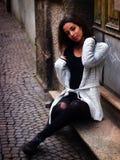 Bella ragazza marocchina a Padova Fotografie Stock