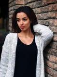 Bella ragazza marocchina a Padova Immagini Stock