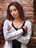 Bella ragazza marocchina a Padova Fotografie Stock Libere da Diritti