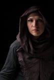 Bella ragazza musulmana Fotografia Stock Libera da Diritti