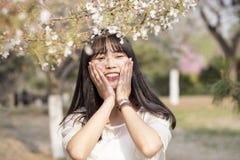 Bella ragazza nella primavera Fotografia Stock Libera da Diritti