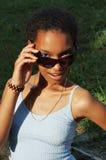 Bella ragazza nera Immagine Stock