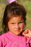 Bella ragazza povera Fotografie Stock