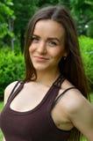 Bella ragazza russa Fotografie Stock Libere da Diritti