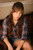 Bella ragazza teenager immagine stock
