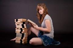 Bella ragazza teenager Fotografia Stock