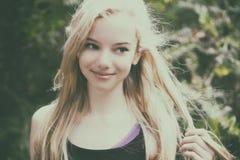 Bella ragazza teenager Immagini Stock