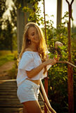 Bella ragazza ucraina Fotografia Stock