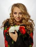 Bella ragazza ucraina Immagine Stock Libera da Diritti