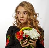 Bella ragazza ucraina Immagini Stock Libere da Diritti