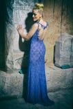 Bella ragazza in vestito Fotografia Stock