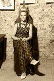 Bella ragazza in vestito Immagine Stock Libera da Diritti