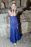 Bella ragazza in vestito Immagini Stock Libere da Diritti