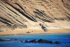 Bella riva del Galapagos, Ecuador Immagine Stock