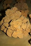 Bella roccia saharian sabbiosa immagine stock