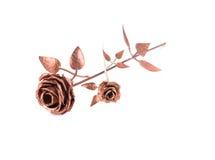 Bella rosa dorata Immagini Stock
