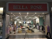 Bella Rose Boutique, Gulfport, Mississippi. Bella Rose Women`s boutique offering affordable Apparel, Jewelry, Shoes, Handbags, and so much more Stock Images