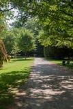 Bella scena del parco in parco pubblico immagine stock libera da diritti