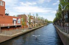 Bella scena della città di Almere Immagine Stock Libera da Diritti