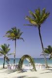 Nozze di spiaggia Fotografia Stock