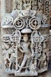 Bella scultura al tempio di Sun Fotografia Stock