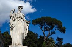 Bella scultura italiana Fotografia Stock Libera da Diritti