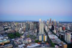 Bella Seattle immagine stock libera da diritti