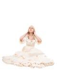 Bella donna vittoriana Fotografia Stock