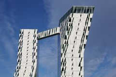 Bella Sky Hotel em Copenhaga, Dinamarca Imagem de Stock Royalty Free