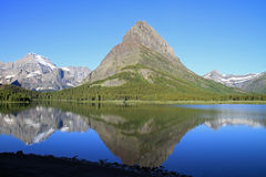 Bella sosta nazionale del ghiacciaio Fotografia Stock Libera da Diritti